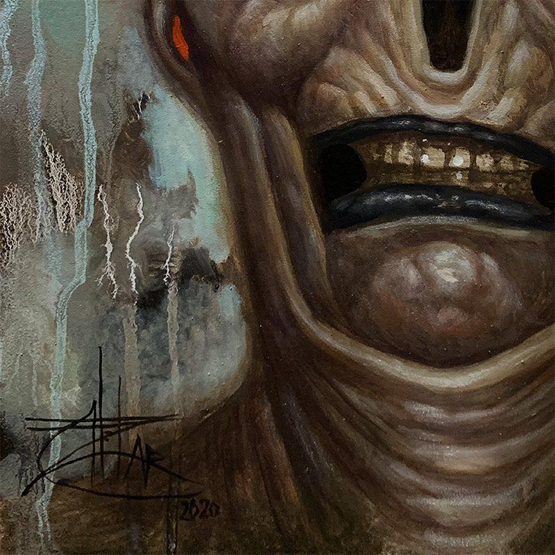 Chet Zar - A Demonic Interlude (Detail 2)