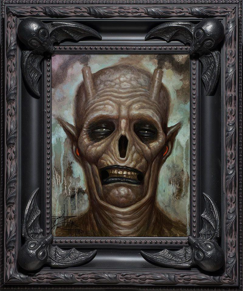 Chet Zar - A Demonic Interlude (Framed)