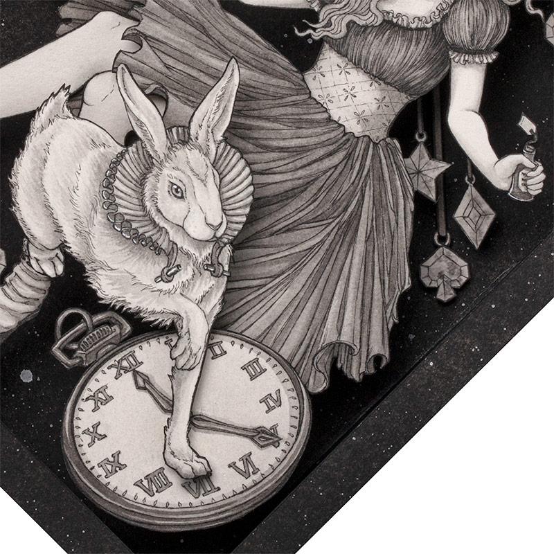 Daria Aksenova - Down the Rabbit-Hole (Detail 2)