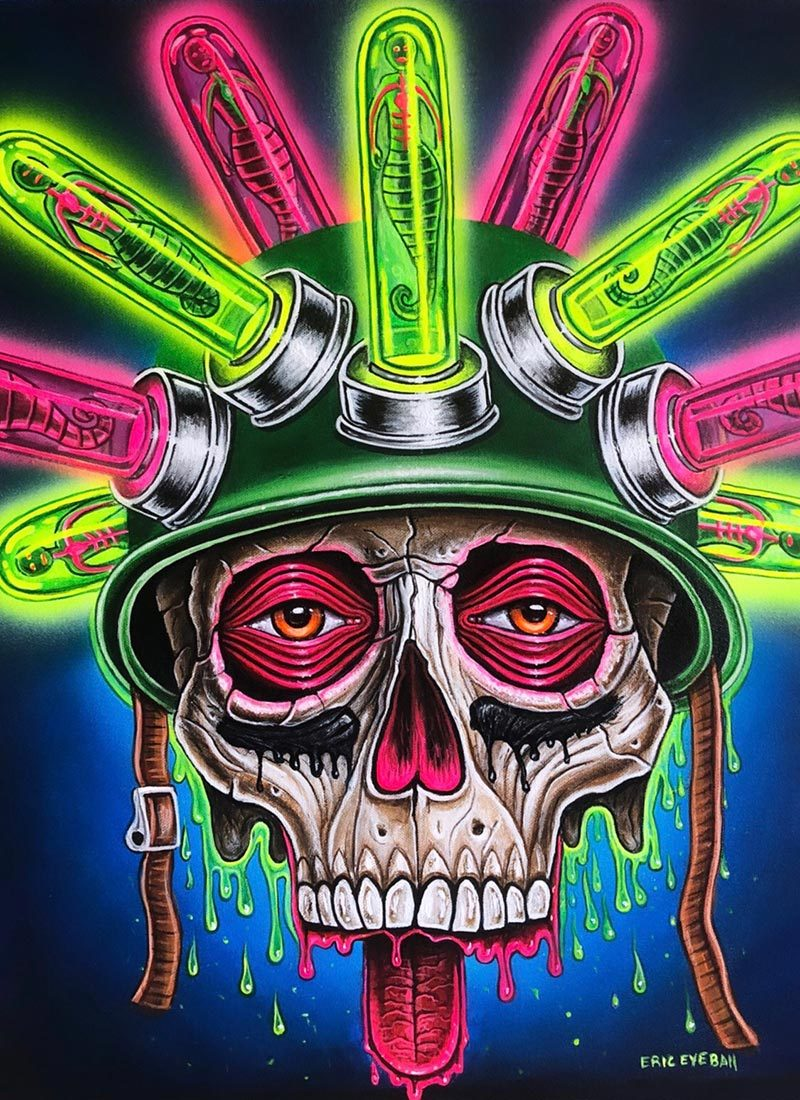 Eric 'Eyeball' Richardson - Drugs on War