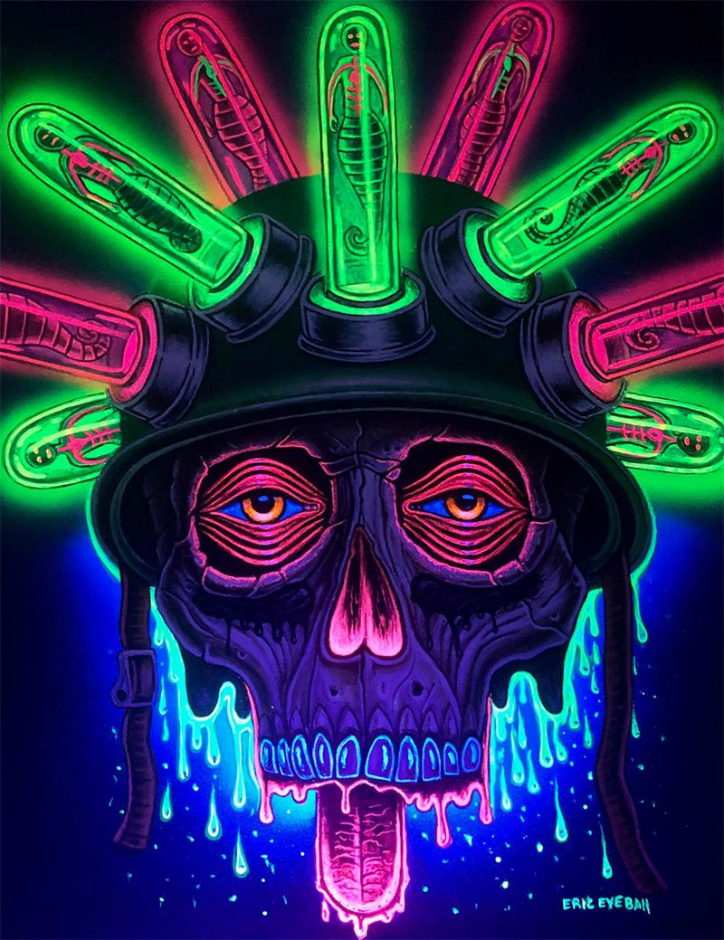 Eric 'Eyeball' Richardson - Drugs on War (Black Light)
