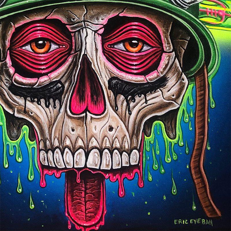 Eric 'Eyeball' Richardson - Drugs on War (Detail 2)