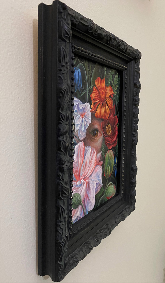 Jennifer Allnutt - Glimpses (Framed - Side)