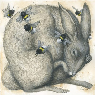 Ana Juan - David vs. Goliath I (Rabbit)