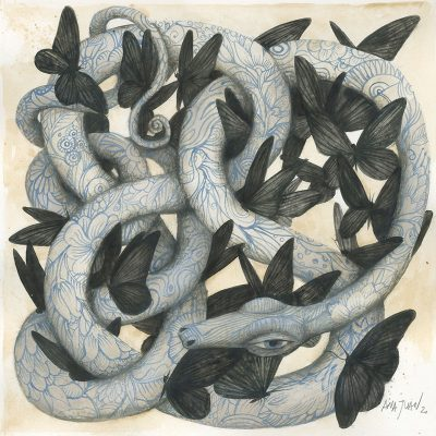 Ana Juan - David vs. Goliath II (Snake)