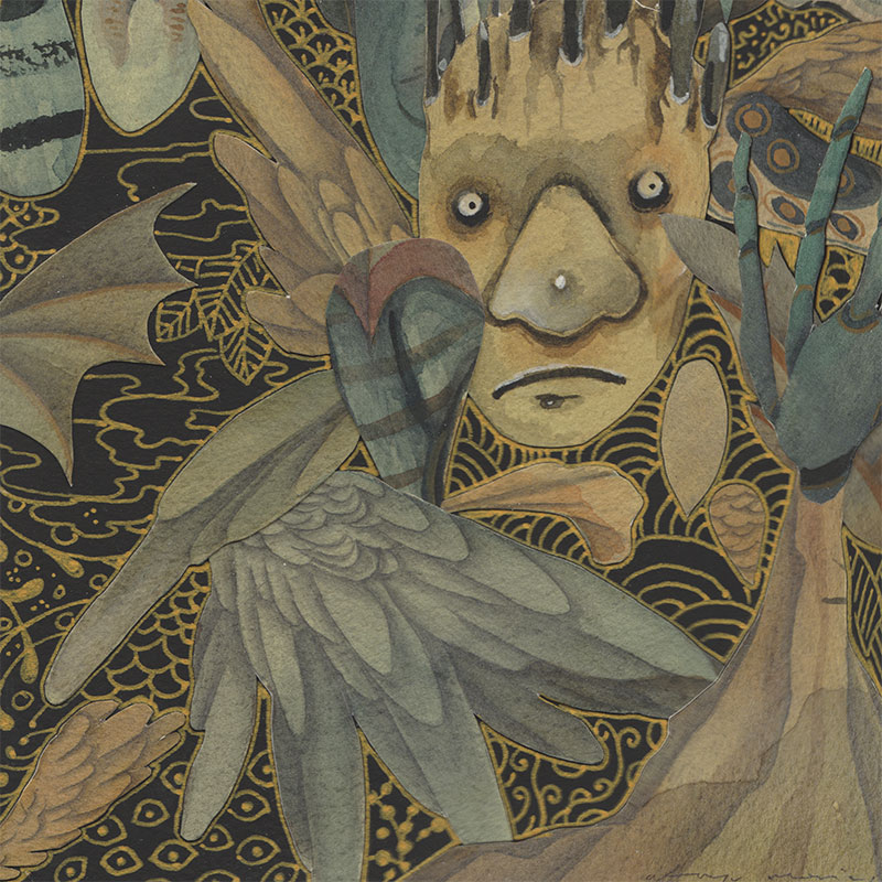 Atreyu Moniaga - Night's Night (Detail 2)