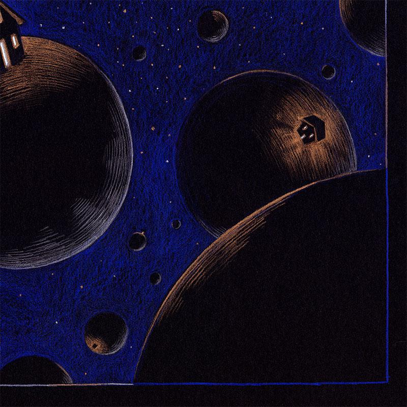 Brian Britigan - Isolation Constellation (Detail 2)