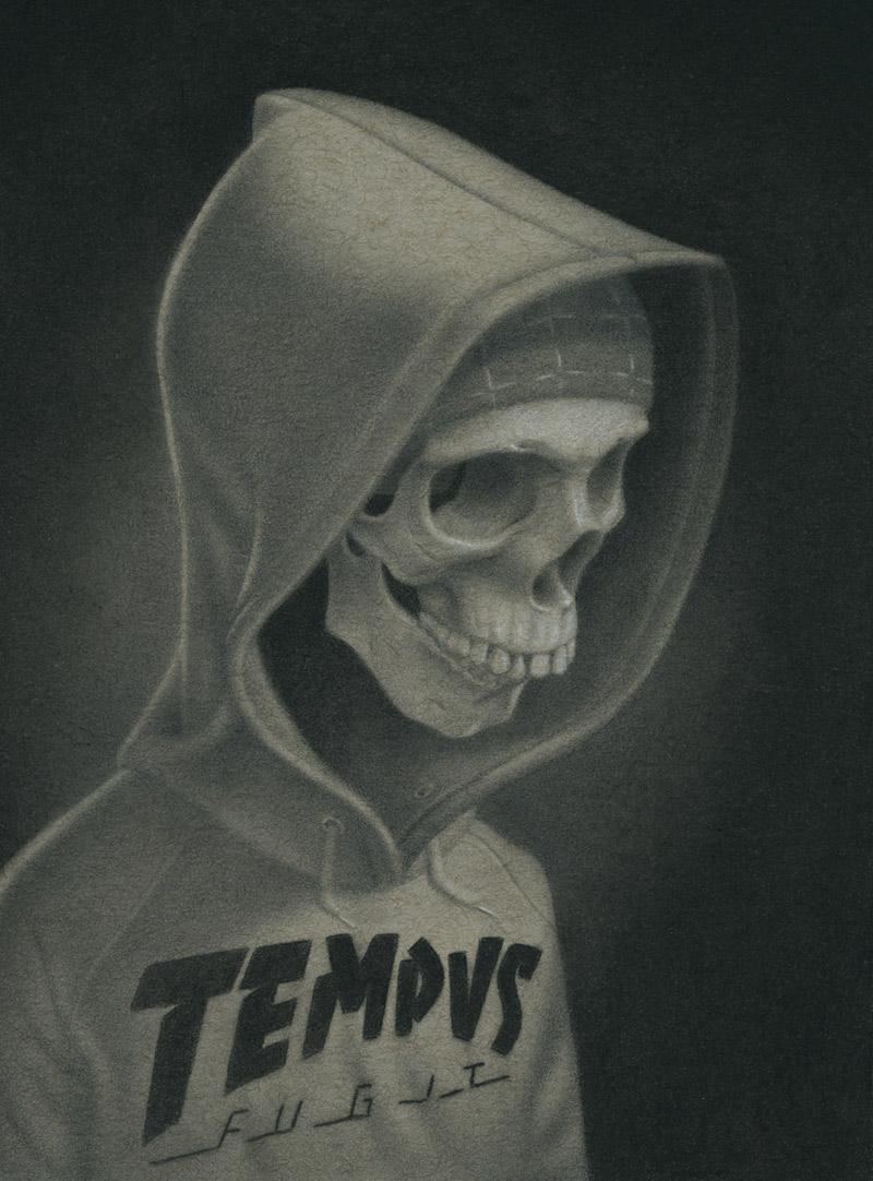 Gabi de la Merced - Tempus Fugit (Detail)