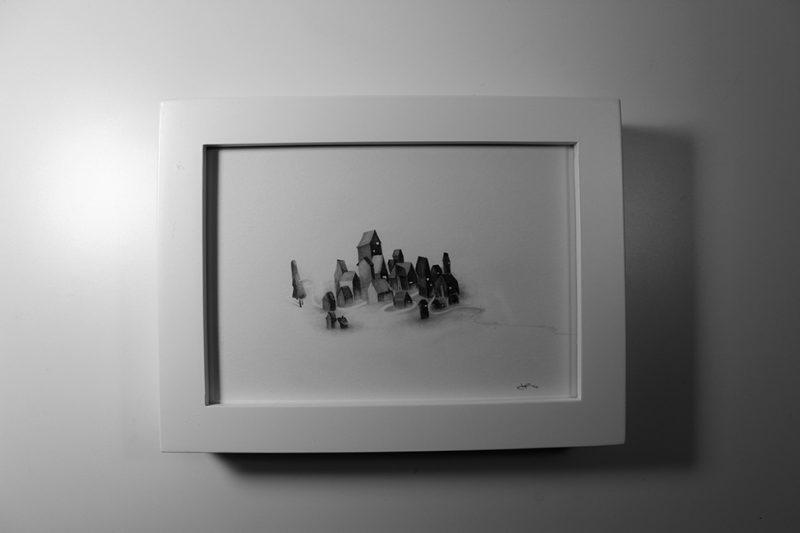 JP Neang - Her (Day) Framed