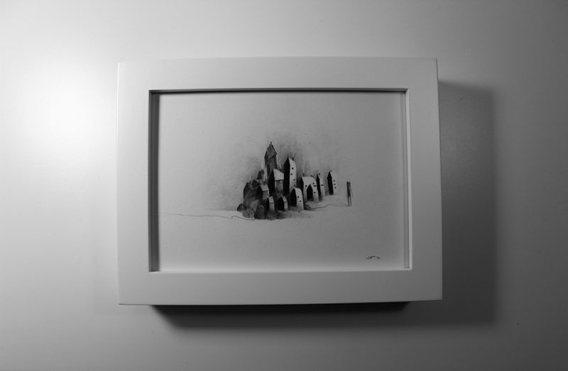 JP Neang - His (Night) Framed