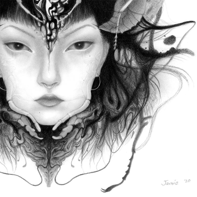Jamie Wells - Queen (Detail 2)