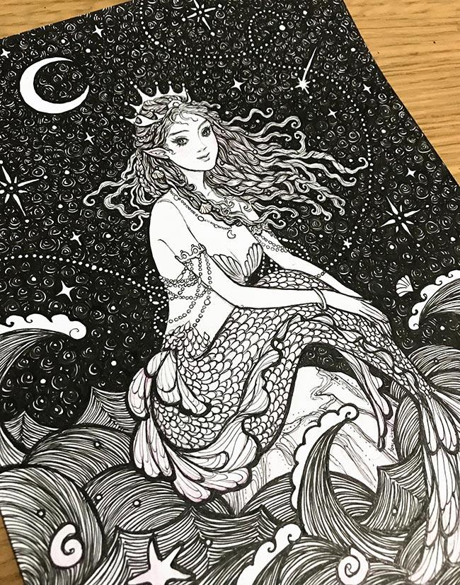 Janaina Medeiros - Night Jewels (Desk - Detail)