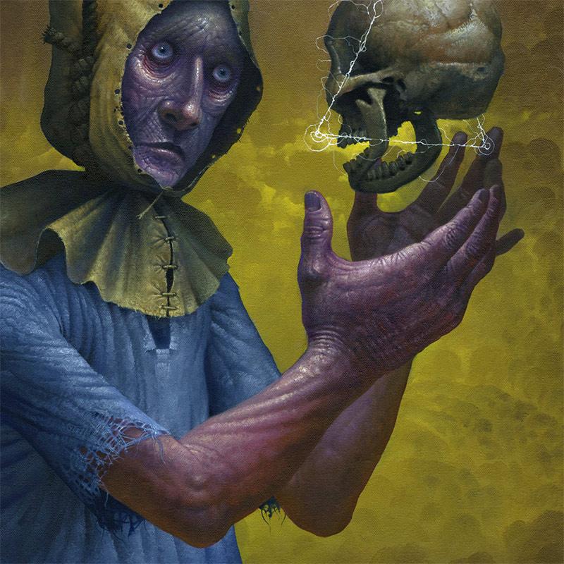 Jeff Christensen - The Skull's Word (Detail 1)