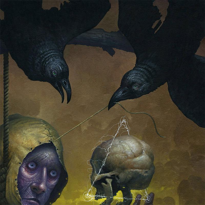 Jeff Christensen - The Skull's Word (Detail 2)