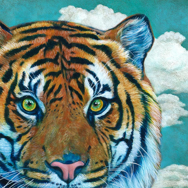 Johannah O'Donnell - Year of the Tiger (Detail 1)