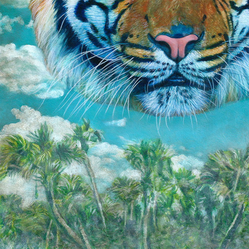 Johannah O'Donnell - Year of the Tiger (Detail 2)