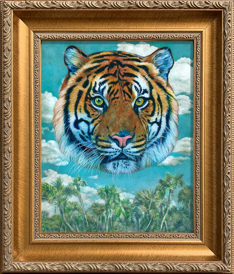 Johannah O'Donnell - Year of the Tiger (Framed)
