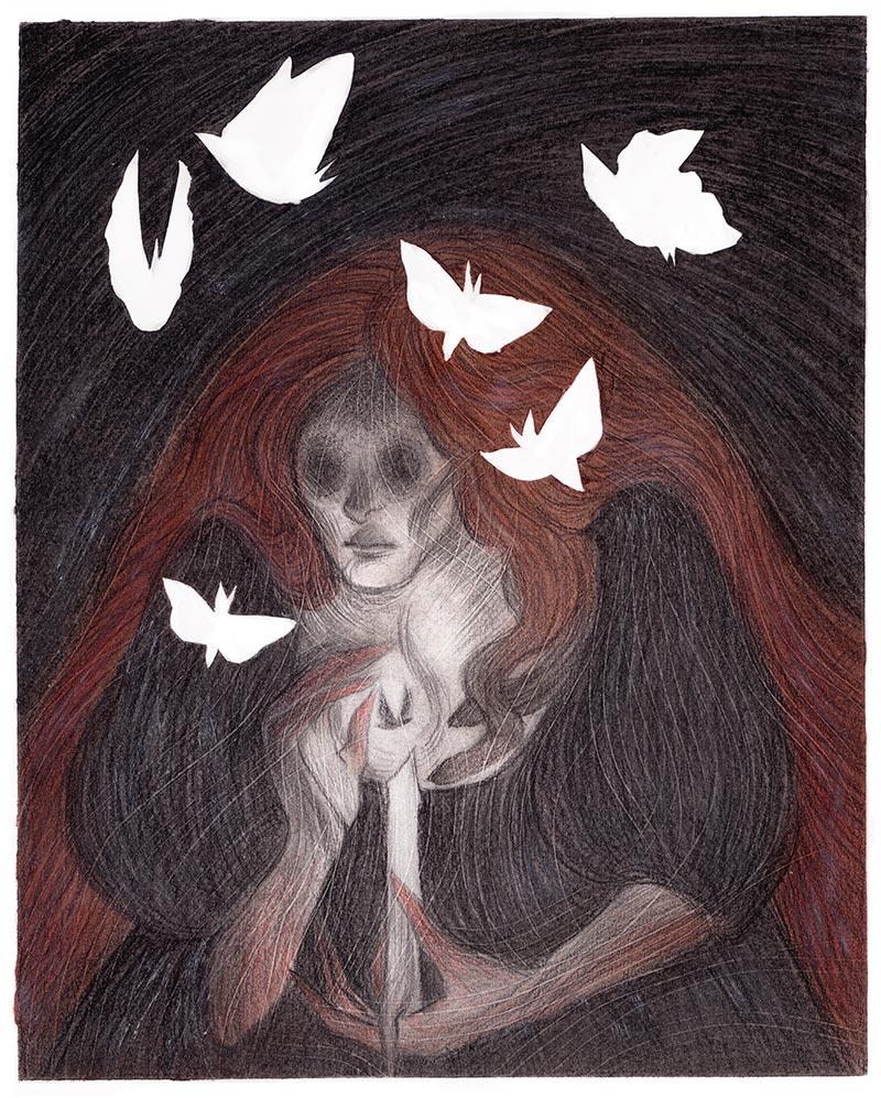 Kring Demetrio - Moth Mother (Border)