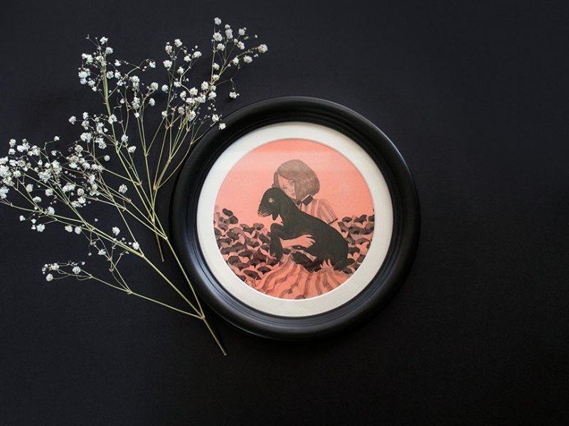 Kristin Siegel-Leicht - Souls in a Field (Framed - Front)