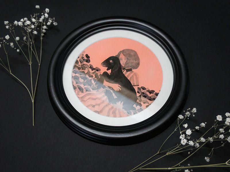 Kristin Siegel-Leicht - Souls in a Field (Framed - Side)
