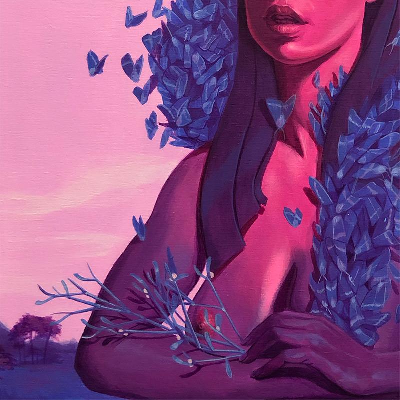 Michael Camarra - Mother Lepidoptera (Detail 2)