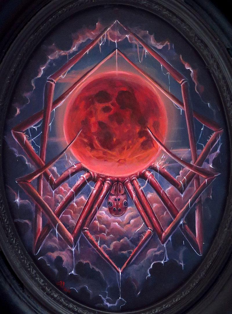Molly Devlin - Arachnid Moon (Framed - Front)