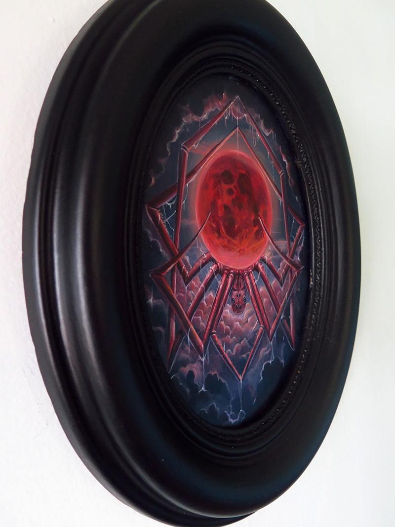 Molly Devlin - Arachnid Moon (Framed - Side)