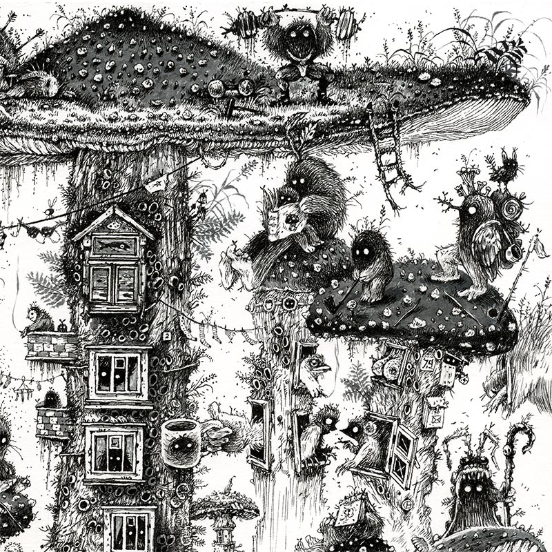 Monika Mitkuke - Home Sweet Home (Detail 1)