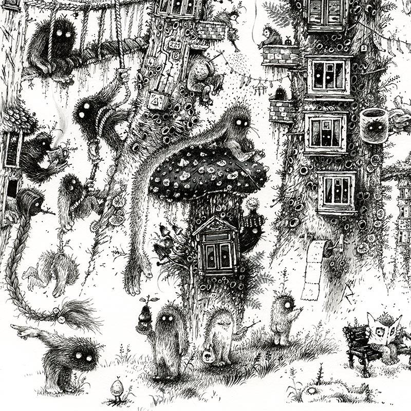 Monika Mitkuke - Home Sweet Home (Detail 2)