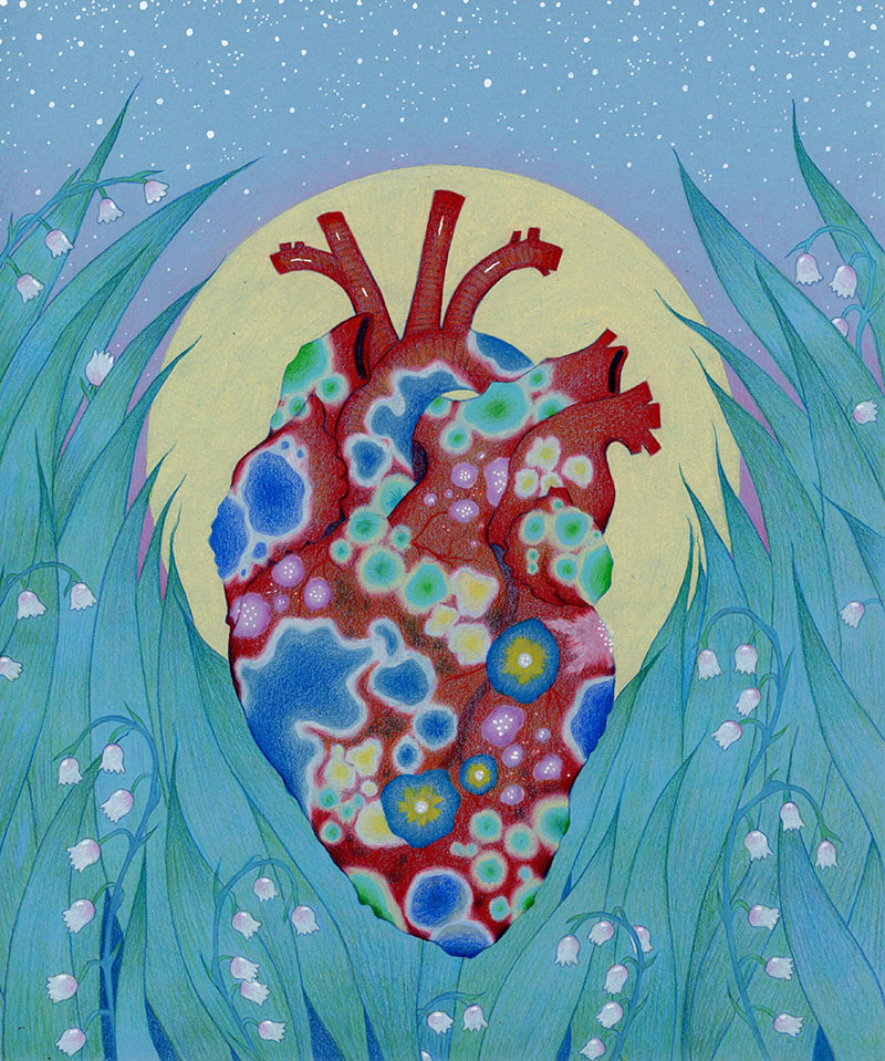 Natalie Foss - My Heart is Heavy with Mould