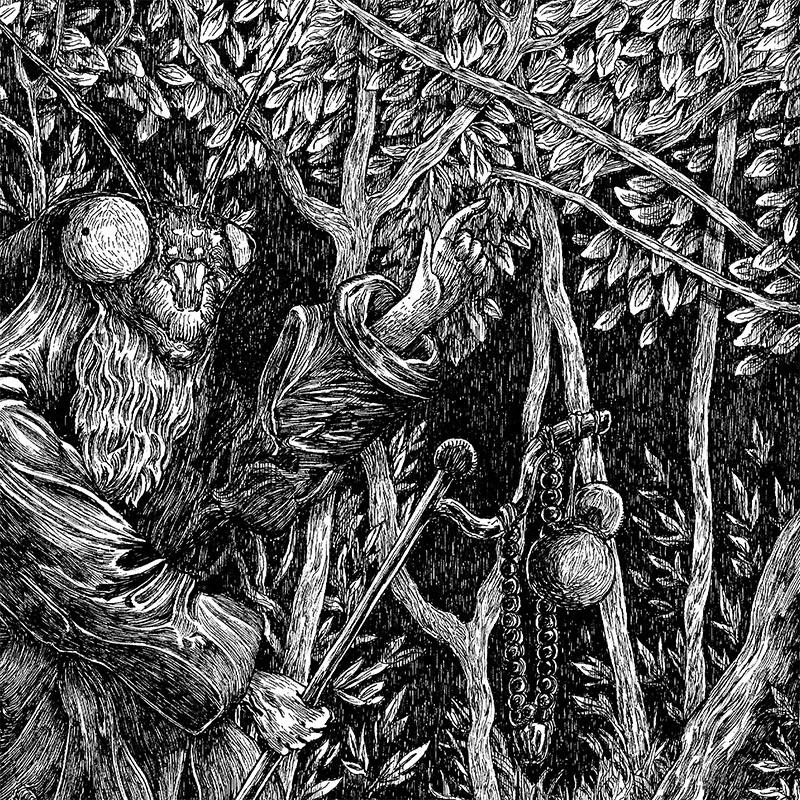 Nicolas Arispe - The Mantis Pilgrimage (Detail 1)
