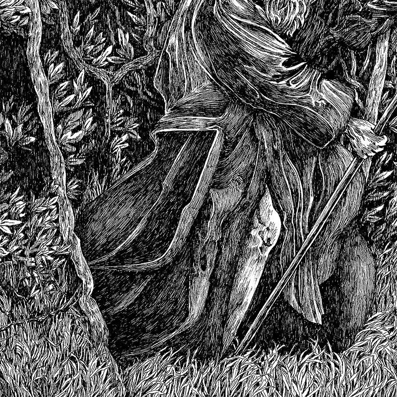 Nicolas Arispe - The Mantis Pilgrimage (Detail 2)