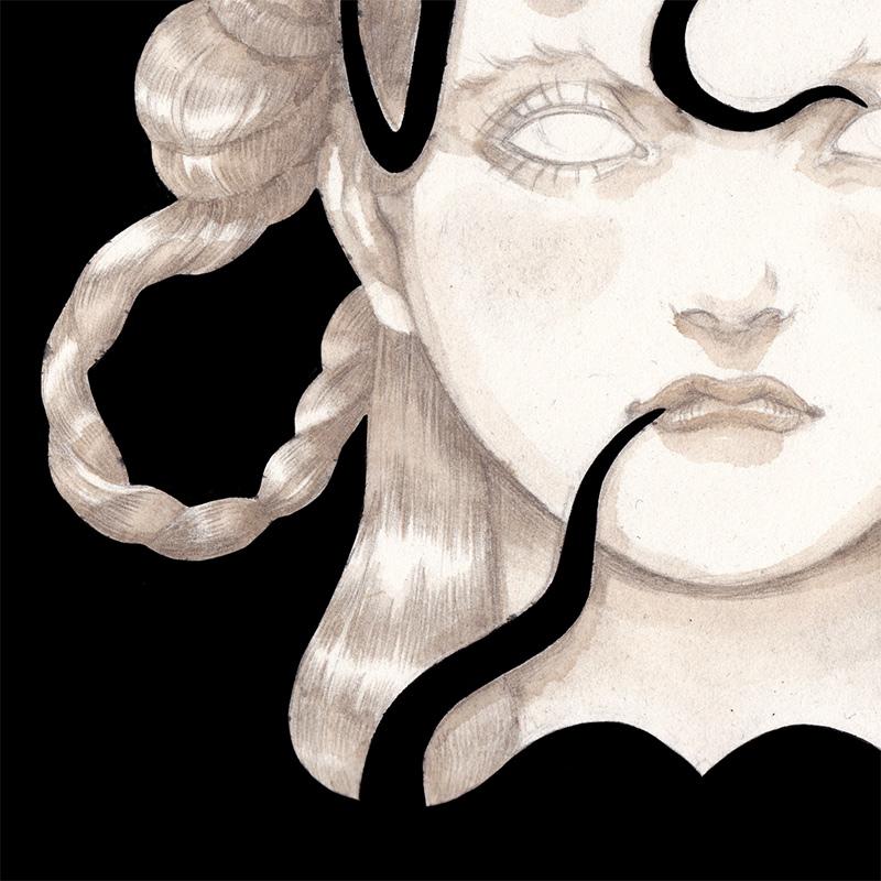 Olga Wieszczyk - Anger (Detail 2)