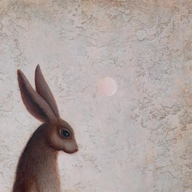 Paul Barnes - The Hare & The Sun (Detail 1)