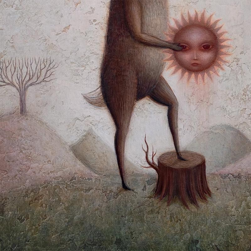 Paul Barnes - The Hare & The Sun (Detail 2)