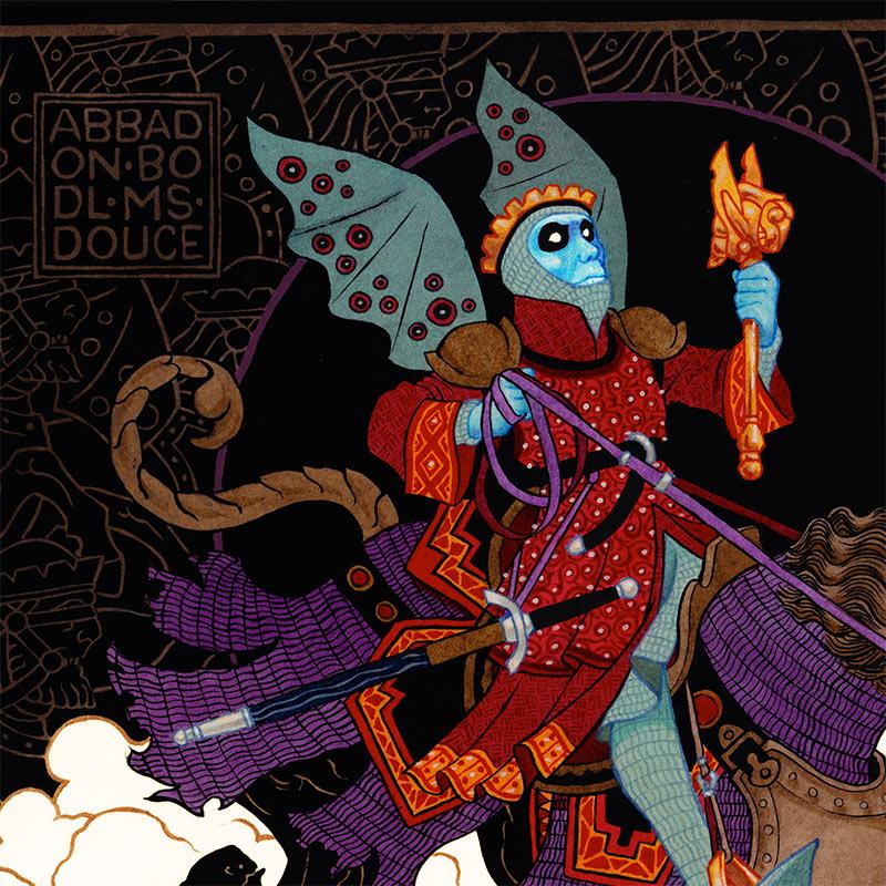 Peter Diamond - The King of Locusts (Detail 1)