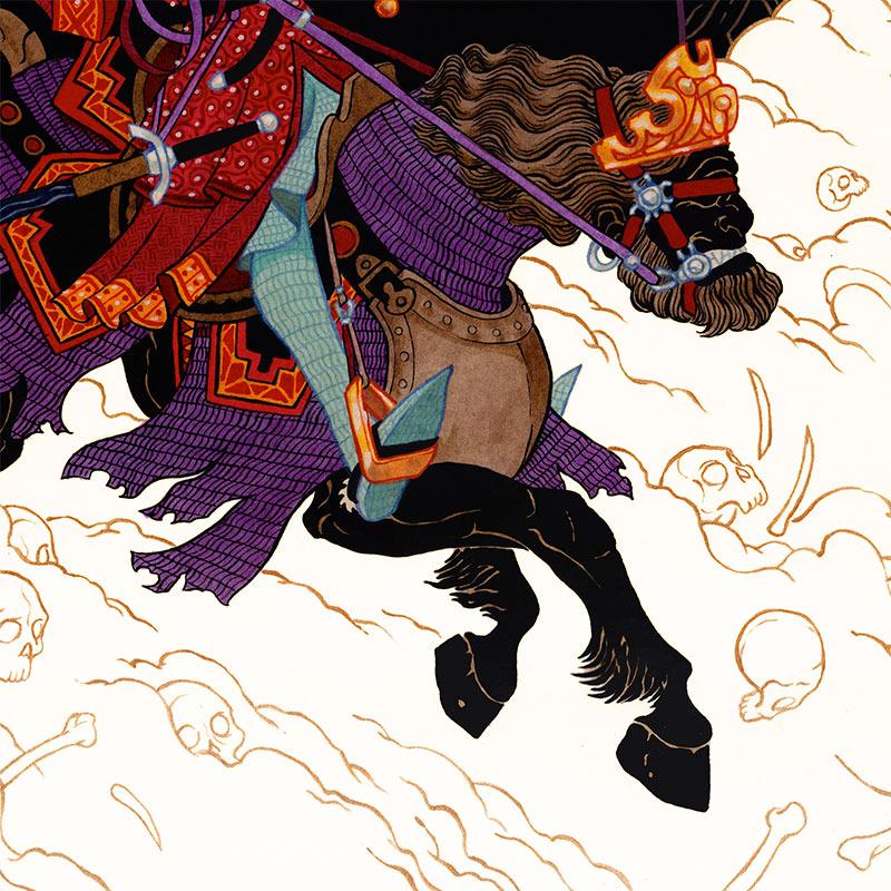 Peter Diamond - The King of Locusts (Detail 2)