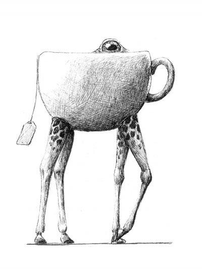 Redmer Hoekstra - Giraffe Teacup