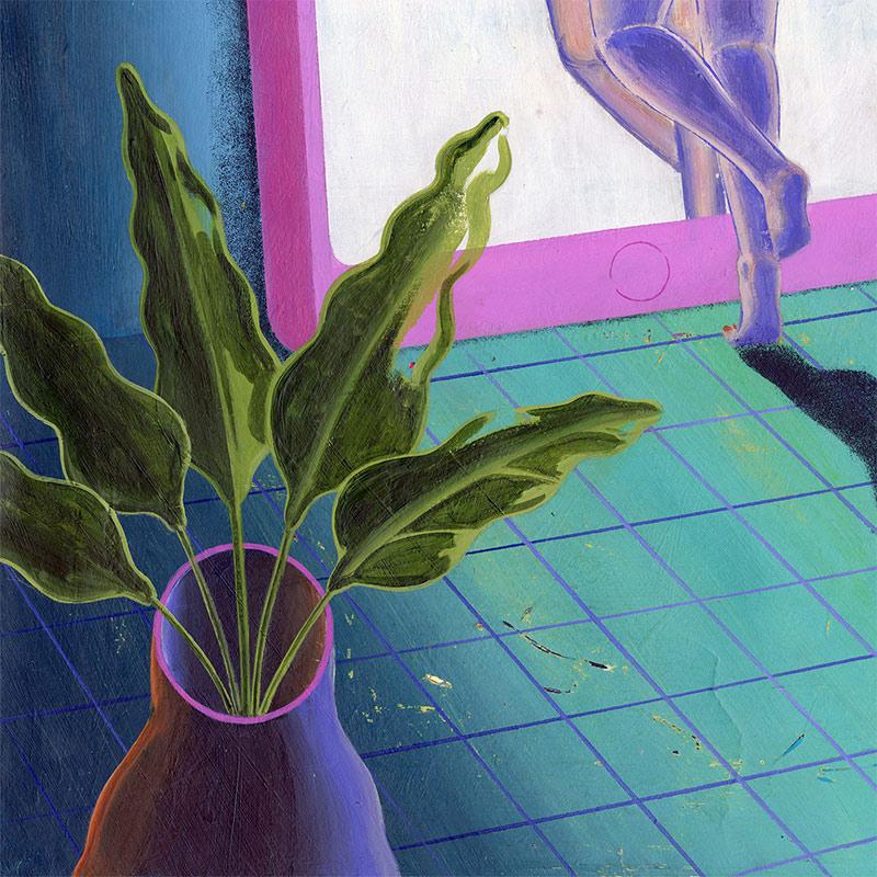 Robert Deutsch - Black Mirror (Detail 2)