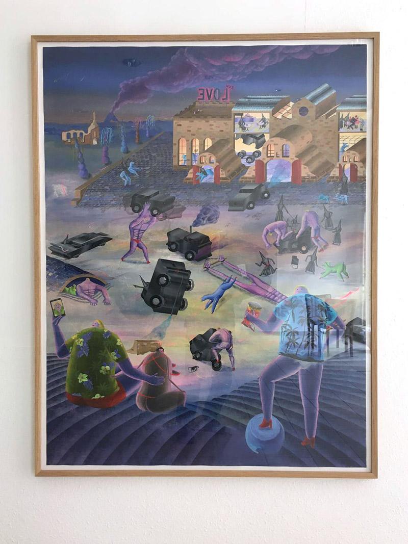 Robert Deutsch - Evil Love (Frame - Front)