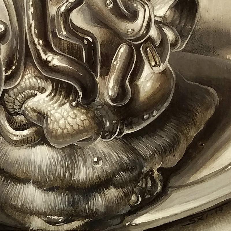 Sri Whipple - Fruit Basket (Detail 2)