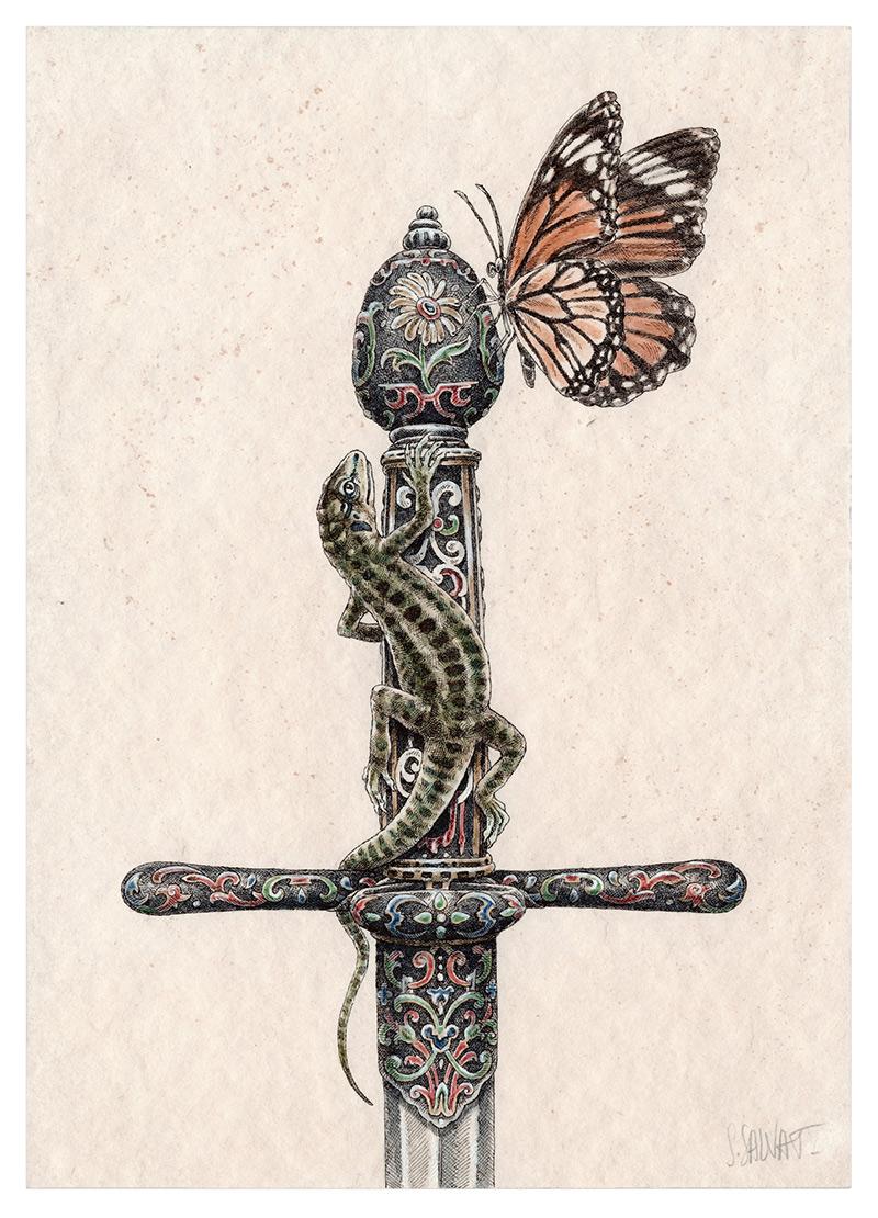 Steeven Salvat - Gecko 2 (Border)