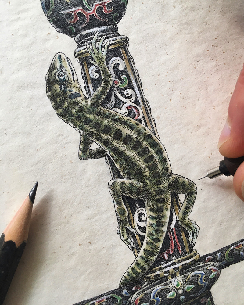 Steeven Salvat - Gecko 2 (Progress 1)