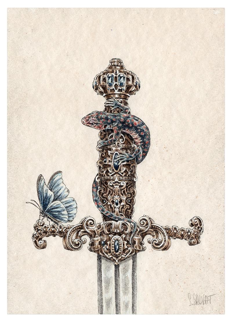 Steeven Salvat - Gecko 3 (Border)