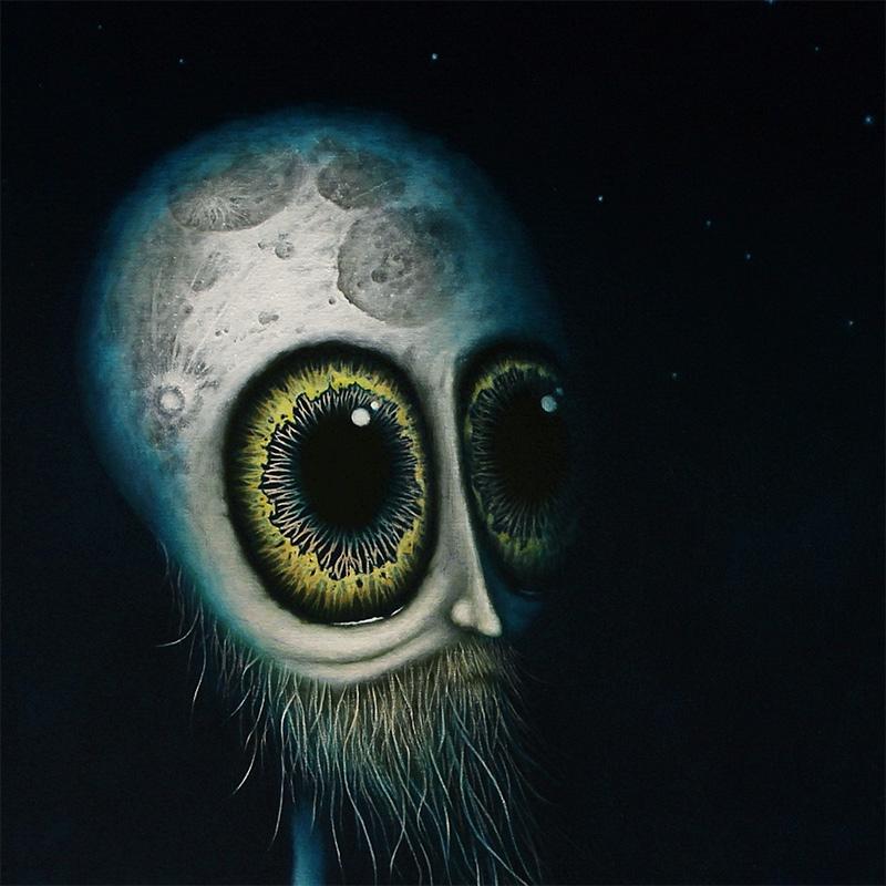 August Vilella - Moonhead (Detail 1)