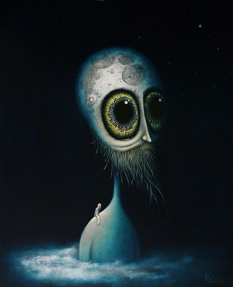 August Vilella - Moonhead