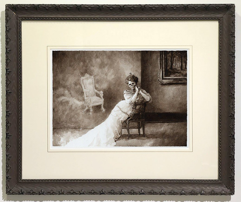 Benz and Chang - The World Will Always Welcome Lovers 1909 (Framed)