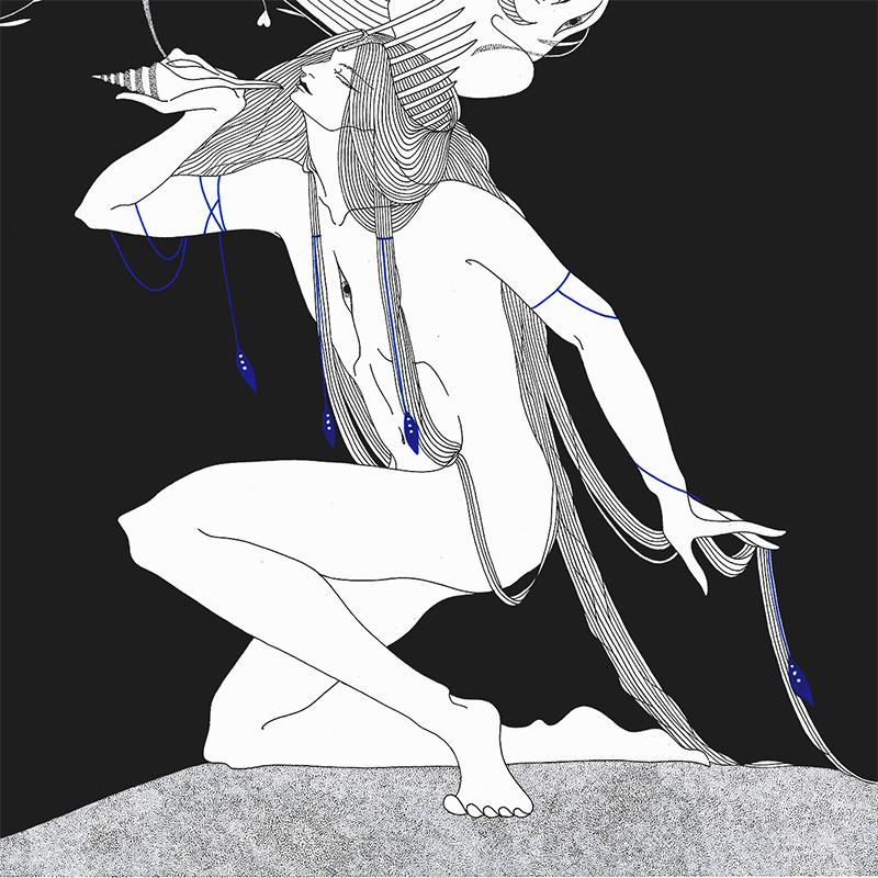 Marina Mika - The Shell (Detail 2)