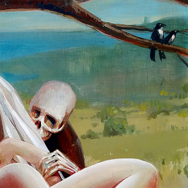 Sri Whipple - Death and the Maiden (Detail 1)