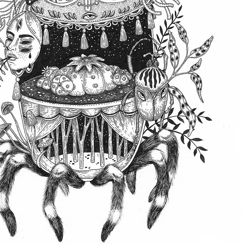 Ale De la Torre - Hikuri Dream (Detail 2)